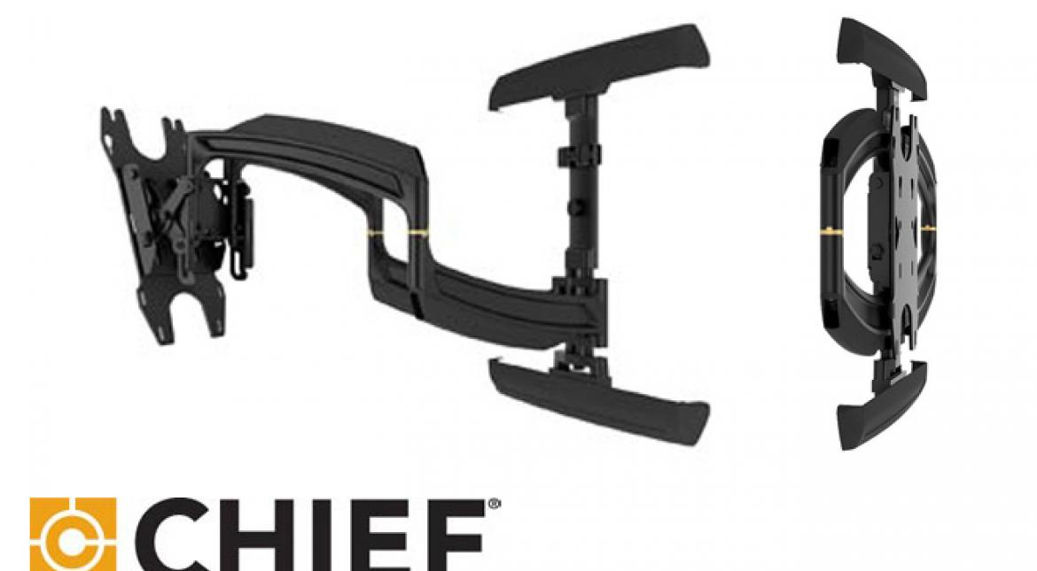 Chief Manufacturing Wins Again for TV Wall Mount