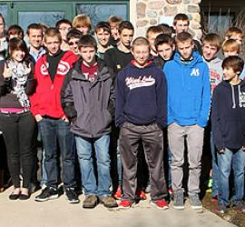 Muskego High School Students Visit BSI Allenton